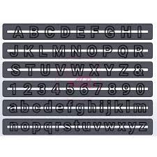 Nicoles Zuckerwerk dekofee Buchstaben und Zaklen Ausstecher Roboto