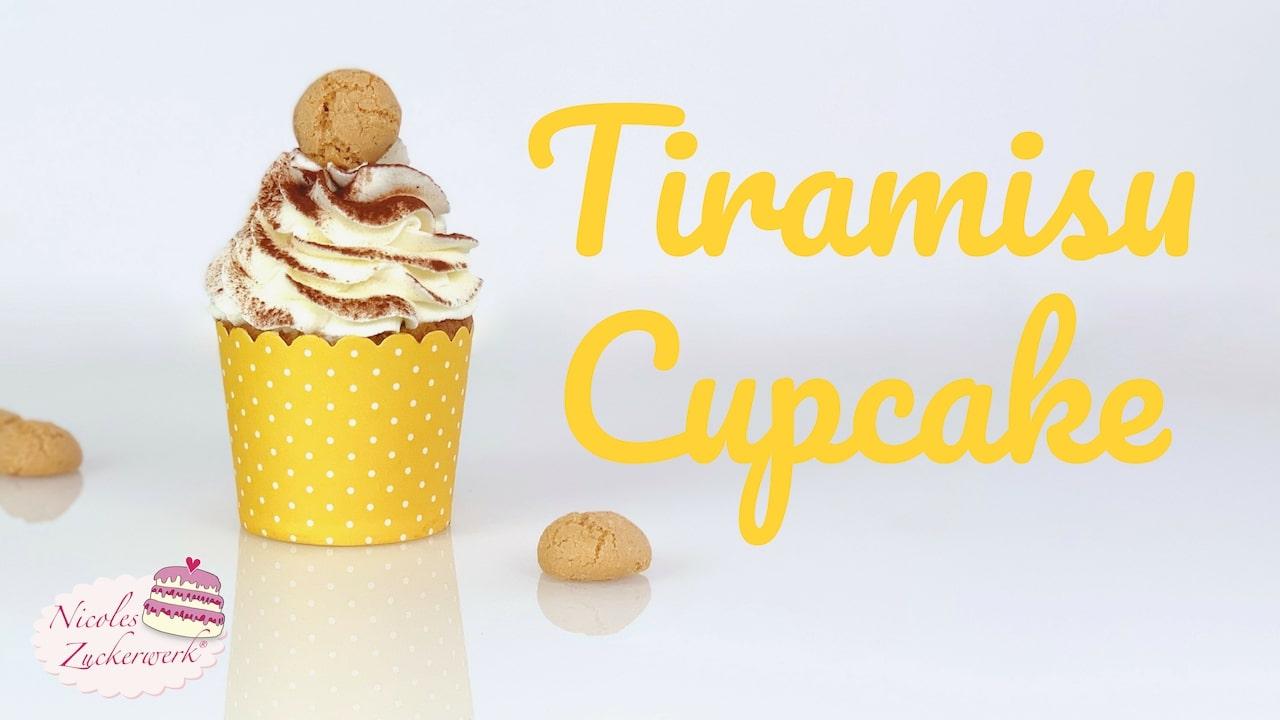 Nicoles Zuckerwerk Tiramisu Cupcake - super lecker