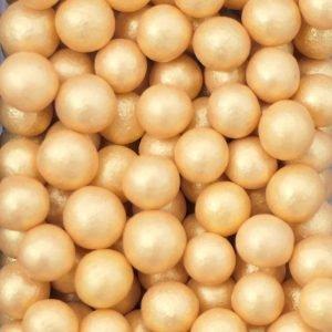 Nicoles Zuckerwerk Weiche Perlen Gold