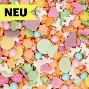 Nicoles Zuckerwerk Streuselbox Zuckerstreusel Sprinkles Medley Einhorn