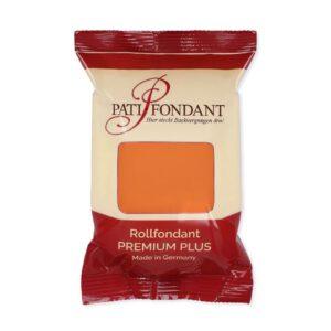 Nicoles Zuckerwerk Pati-Versand Rollfondant Orange 250g