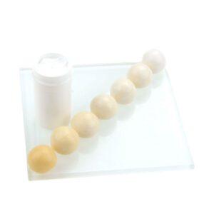 Nicoles Zuckerwerk Shop Pastenfarbe Perlweiß