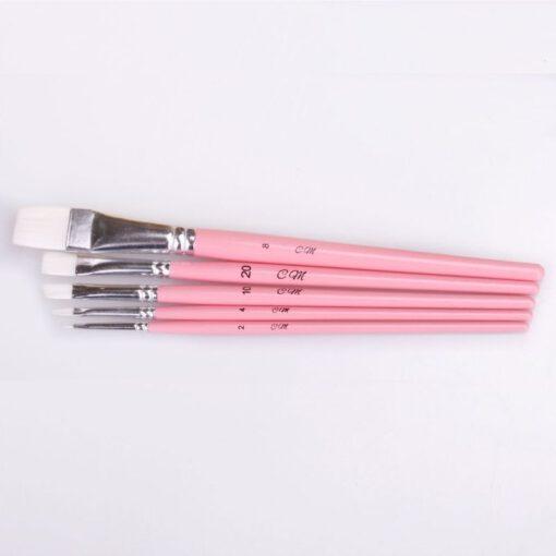 Nicoles Zuckerwerk Shop Flachpinsel-Set