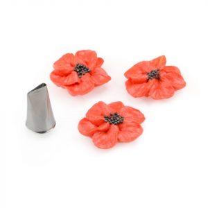 Nicoles Zuckerwerk Shop Garniertülle Blütenblatt extra klein