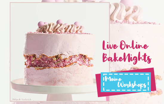 Live Online BakeNights-Workshops