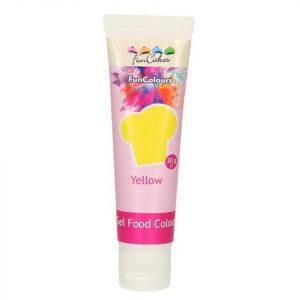 Nicoles Zuckerwerk Shop FunCakes Gelfarbe gelb