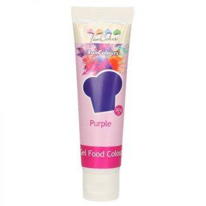 Nicoles Zuckerwerk Shop FunCakes Gelfarbe violett