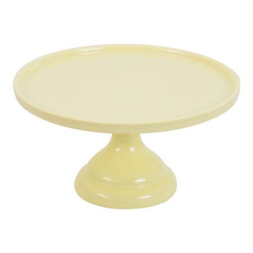 Nicoles Zuckerwerk Shop Kuchenständer klein gelb