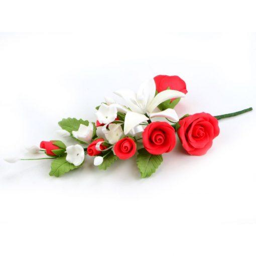 Nicoles Zuckerwerk Feinzucker Bouquet Lily and Rose