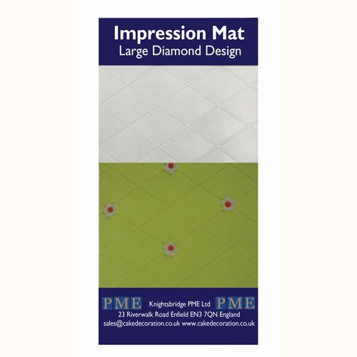 Nicoles Zuckerwerk Shop PME Impression Mat Diamant