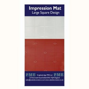 Nicoles Zuckerwerk Shop PME Impression Mat Large Square Design
