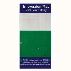 Nicoles Zuckerwerk Shop PME Impression Mat Small Sqaure Design