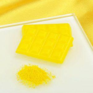 Nicoles Zuckerwerk Shop Pulverfarbe gelb