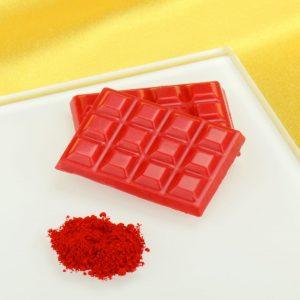 Nicoles Zuckerwerk Shop Pulverfarbe rot