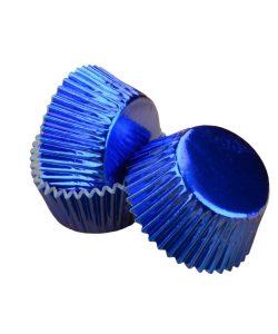 Nicoles Zuckerwerk Shop Cake-Masters Muffinkapseln Alu blau
