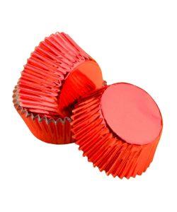 Nicoles Zuckerwerk Shop Cake-Masters Muffinkapseln Alu rot