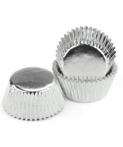 Nicoles Zuckerwerk Shop Cake-Masters Muffinkapseln Alu silber