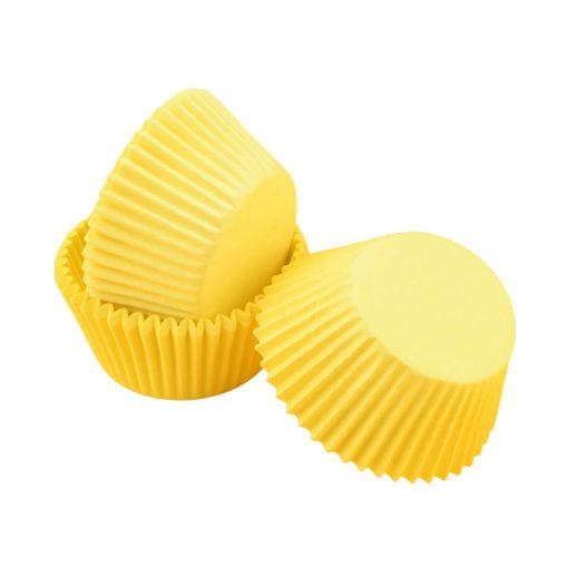 Nicoles Zuckerwerk Shop Cake-Masters Muffinkapseln pastellgelb
