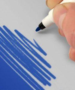 Nicoles Zuckerwerk Shop Rainbow Dust Farbstift blau
