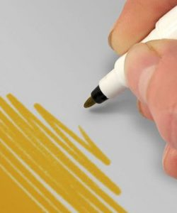 Nicoles Zuckerwerk Shop Rainbow Dust Farbstift dunkelgold