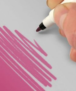 Nicoles Zuckerwerk Shop Rainbow Dust Farbstift pink
