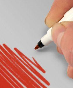 Nicoles Zuckerwerk Shop Rainbow Dust Farbstift rot